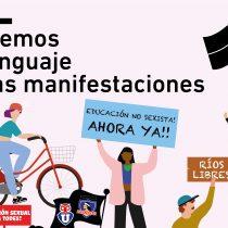 """""""Cuidemos el lenguaje en las manifestaciones"""": artistas crean ilustraciones contra gritos transfóbicos, machistas y especistas"""