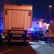 Alemania: camión que embistió a coches en Limburg había sido robado. Se teme