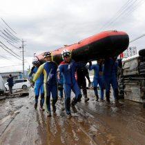 Japón: saldo de muertos por tifón Habigis se eleva a 66