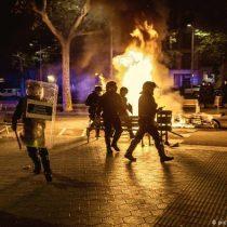 30 detenidos en Cataluña por disturbios de las protestas independentistas