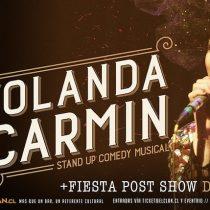 Espectáculo Atrévetecon comediante Yolanda Carmín en Bar El Clan