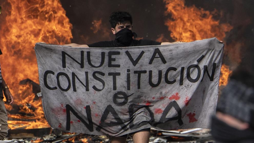 Resultado de imagen para marchas nueva constitución chile
