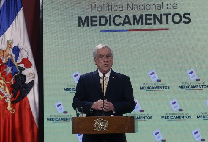 Piñera cita a Greta Thunberg para decirle a Mañalich que supervise el cumplimiento de la nueva Política Nacional de Medicamentos