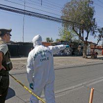 Detonó un artefacto explosivo en concurrido avenida de la comuna de Pudahuel