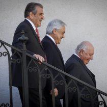 Piñera se reúne con Eduardo Frei y Ricardo Lagos para afrontar la crisis hídrica