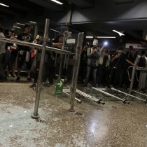 Con internación provisoria quedó el adolescente acusado de participar en el incendio a la estación Pedrero