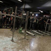Detienen a sujeto por su participación en los destrozos a la estación Pedrero
