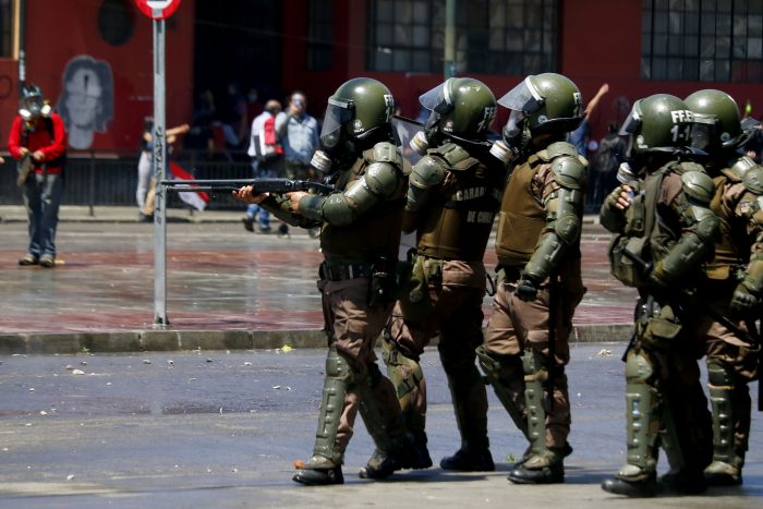 Defensoría Jurídica UChile y el actuar de Carabineros en las protestas: han actuado