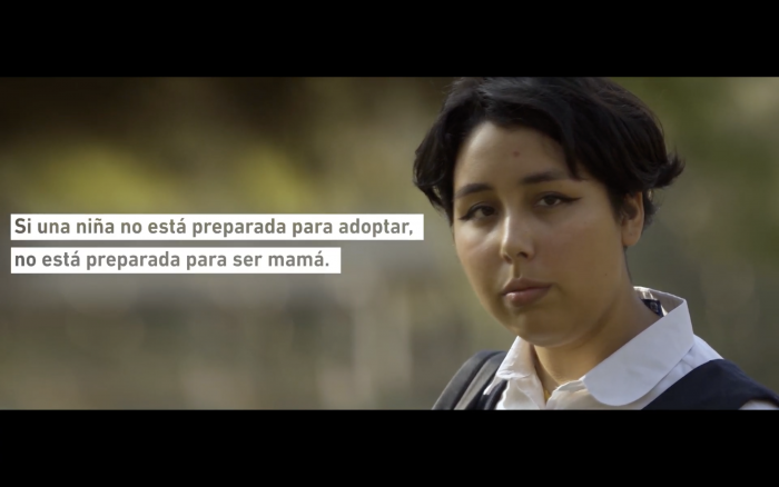 #NiñasNoMadres, el viral con que Miles Chile busca crear conciencia sobre la Ley de Aborto