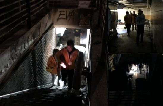 Evidencias de torturas en subterráneo de estación Baquedano moviliza INDH a presentar acciones legales