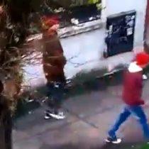 Carabinero taclea a sujeto que intentaba robar auto en Concepción