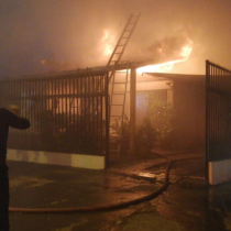 Incendio en hogar de ancianos de Rancagua dejó cinco fallecidos