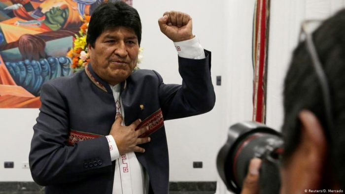 Evo Morales reelecto presidente de Bolivia pese a denuncias de fraude