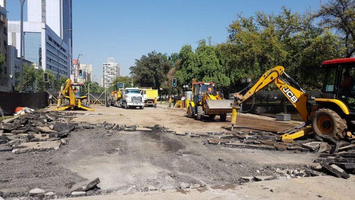 Aguas Andinas informa que matriz de distribución de Providencia se encuentra totalmente operativa
