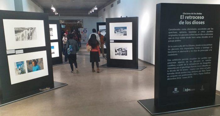 Exposición fotográfica refleja preocupante derretimiento de glaciares en Chile