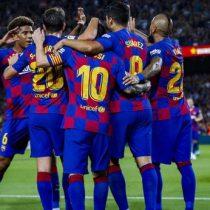 El gol con suspenso de Arturo Vidal en la victoria del Barcelona