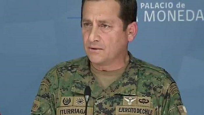 """General Iturriaga """"evade"""" el tono bélico y aclara que no está en guerra con nadie"""