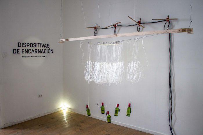 """""""Dispositivas de Encarnación"""" la instalación sonora que recupera labores femeninas de la pesca"""