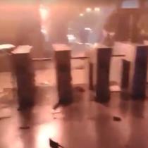 El desesperado relato de un conductor de Metro atrapado en una estación en llamas: