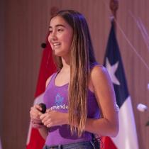 La adolescente chilena que concientiza sobre el cambio climático