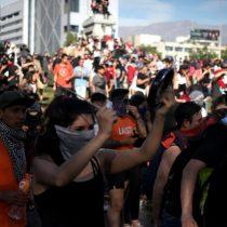 Agenda social del Presidente no desactiva movilización: marcha convocada por la Mesa de Unidad Social copa la Alameda