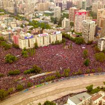 Más de un millón 200 mil personas en Santiago y otras miles en regiones dieron la señal política más potente desde el NO