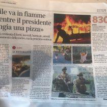Diario de centroderecha italiano habla de la