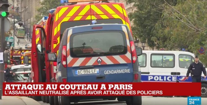 Drama en París: al menos cuatro policías mueren en ataque con cuchillo
