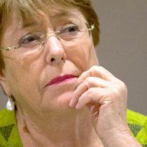 Bachelet antes del informe oficial de la ONU sobre los DD.HH. en Chile: