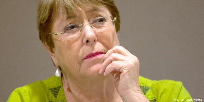 Bachelet teme un legado de crisis de derechos humanos a futuras generaciones