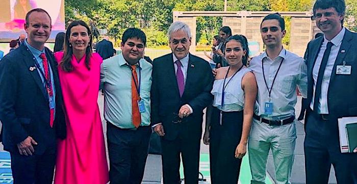 El joven chileno que fue invitado por la ONU para participar de las cumbres climáticas