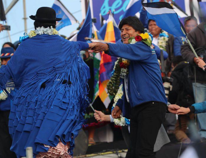 Evo Morales cierra la campaña confiado en ganar de nuevo por