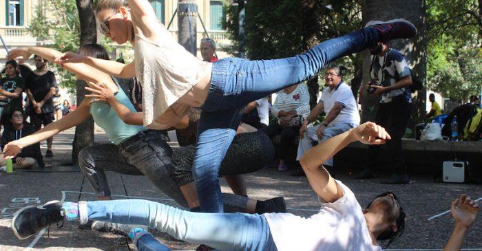 """""""Expansión"""": la danza contemporánea se toma las calles de Santiago"""