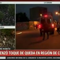 Despacho en vivo identifica el momento exacto en que tres encapuchados bajan de furgón policial