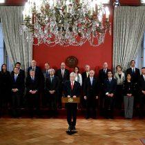 Caras nuevas pero el mismo mensaje en el segundo tiempo de Piñera: el