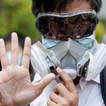 Hong Kong prohíbe el uso de máscaras durante las protestas