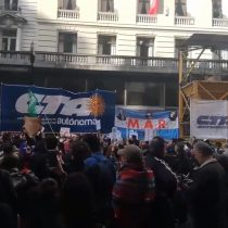 Protestas de chilenos en el extranjero: caos en Argentina y calma en Barcelona