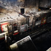 PDI detiene a menor de 16 años acusado por incendio a estación Pedrero del Metro
