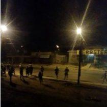 Militares repelen a manifestantes en Temuco a punta de balazos