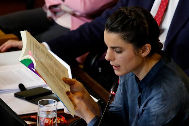 Sacó aplausos: la cita de la diputada Orsini al libro de Cubillos con la que justificó la acusación constitucional