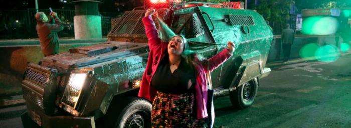 Los manifestantes están unidos por algo diferente a la política