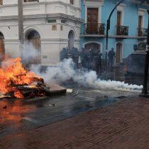 """Máxima tensión en Ecuador: decretan estado de excepción ante las protestas por el """"paquetazo"""" económico"""