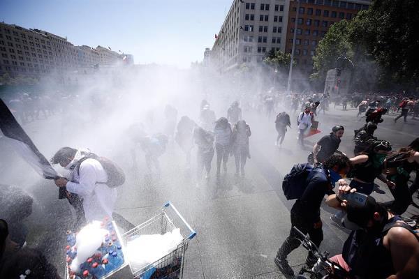 Donald Trump denuncia injerencia extranjera en protestas en Chile