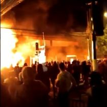 Se desencadenó la rabia contra Essal: manifestantes queman sucursal de atención al cliente en Osorno