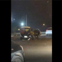 Delincuentes roban auto a familia que viajaba con su bebé y los dejan abandonados en plena Ruta 68