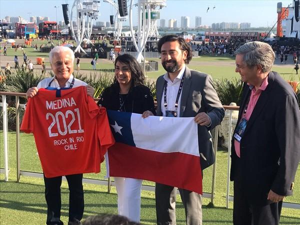 Chile tendrá su primera edición del Rock in Río en 2021