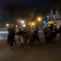 Manifestantes se enfrentan a saqueadores en medio de jornadas