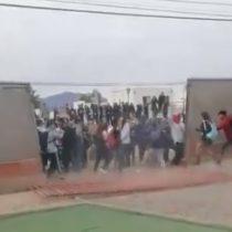 Estudiantes secundarios van en busca de compañeros de otros colegios para que se sumen a las movilizaciones