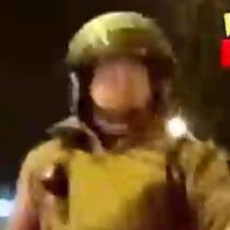 A pesar de portar su salvoconducto: carabinero apunta con su arma a periodista durante el toque de queda en Coquimbo