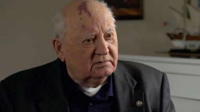 30 años de la caída del Muro de Berlín: Mijaíl Gorbachov advierte que el mundo está
